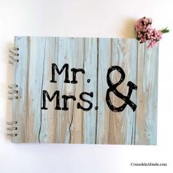 Libro de firmas Mr. & Mrs.